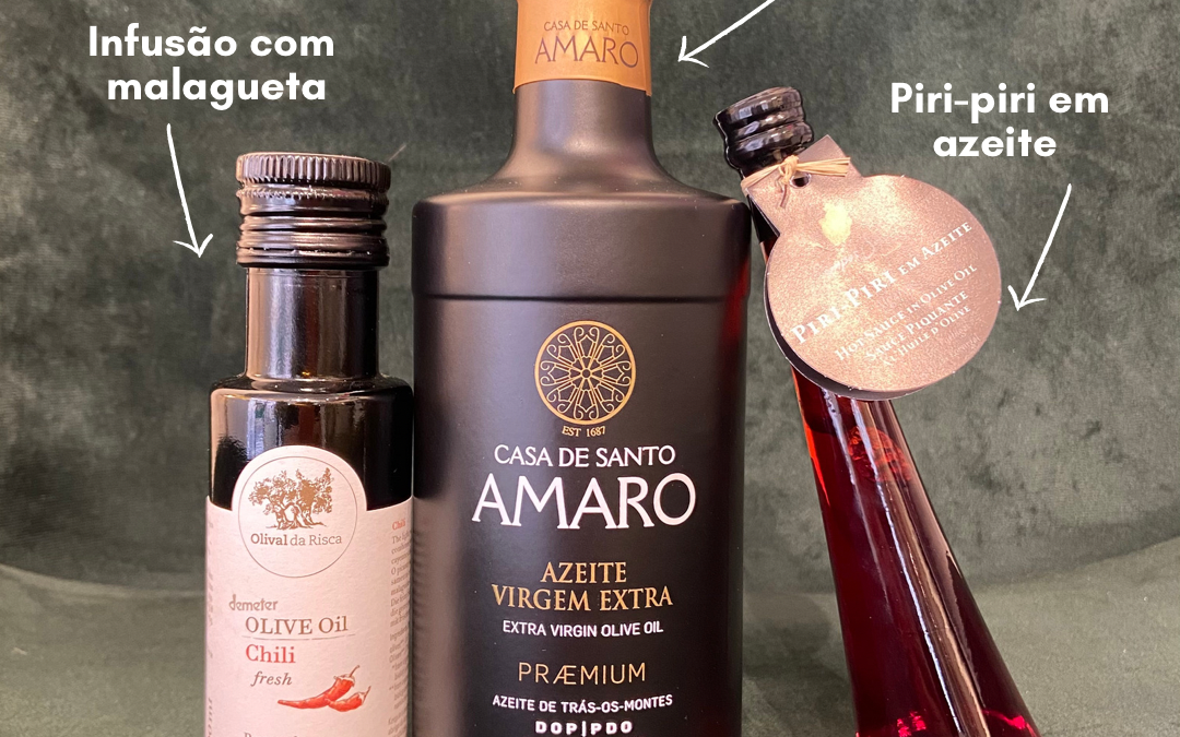 3 Kinds of Spicy Sensations in Olive Oil