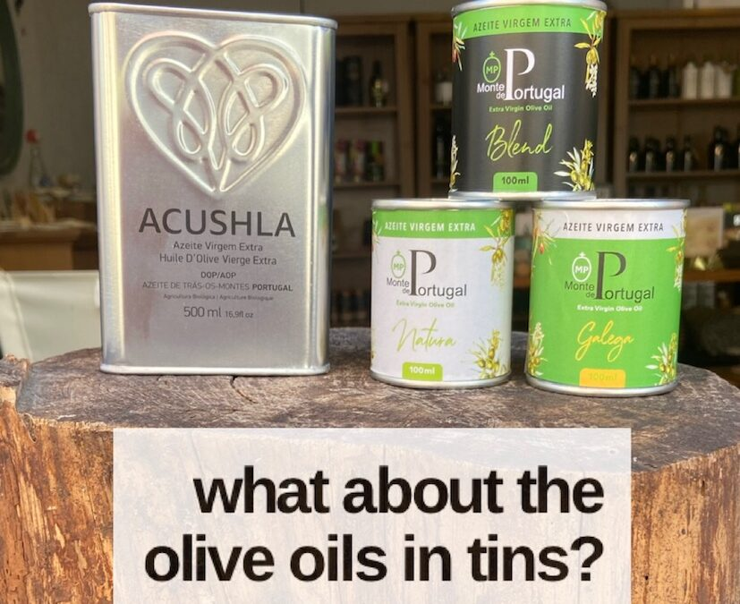 Is the quality of Olive Oils in Tins inferior?